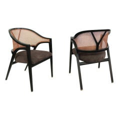 Pair of Lounge Chairs by Edward Wormley