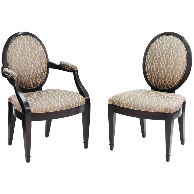 Set of 8 Elegant Dining Chairs by John Hutton for Donghia  : XXX783813330545421 from www.1stdibs.com size 768 x 768 jpeg 57kB