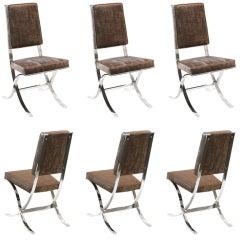 Set of 6 Elegant Dining Chairs