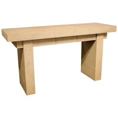 """""""T-Style Console Table"""" by Karl Springer"""