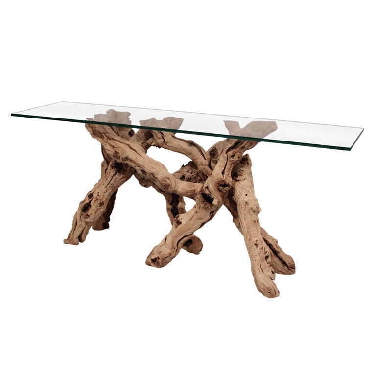 Modern Glass Console Tables