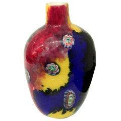 Handblown Glass Vase by Arte Vetraria Muranese 'A.V.E.M'