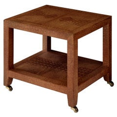 """Telephone Table"" by Karl Springer"