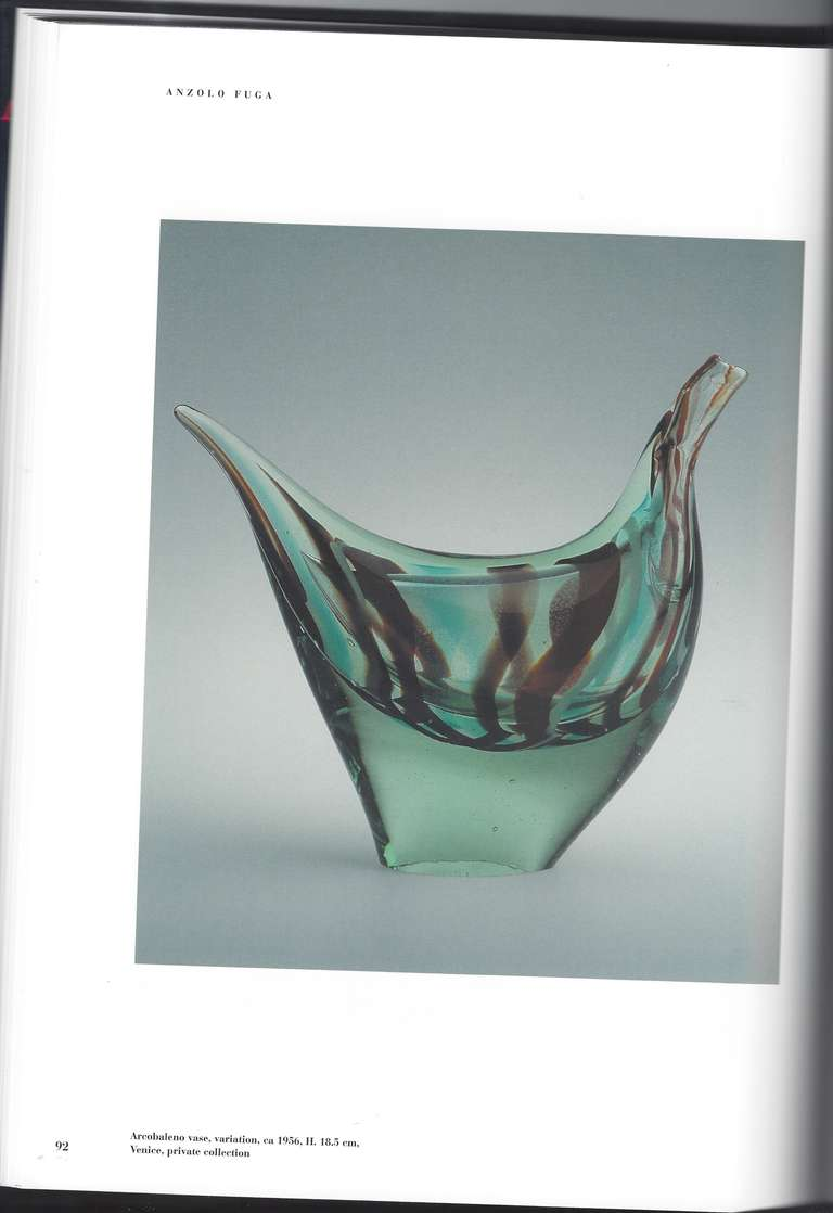 Arcobaleno vase by anzolo fuga at 1stdibs for Arcobaleno design