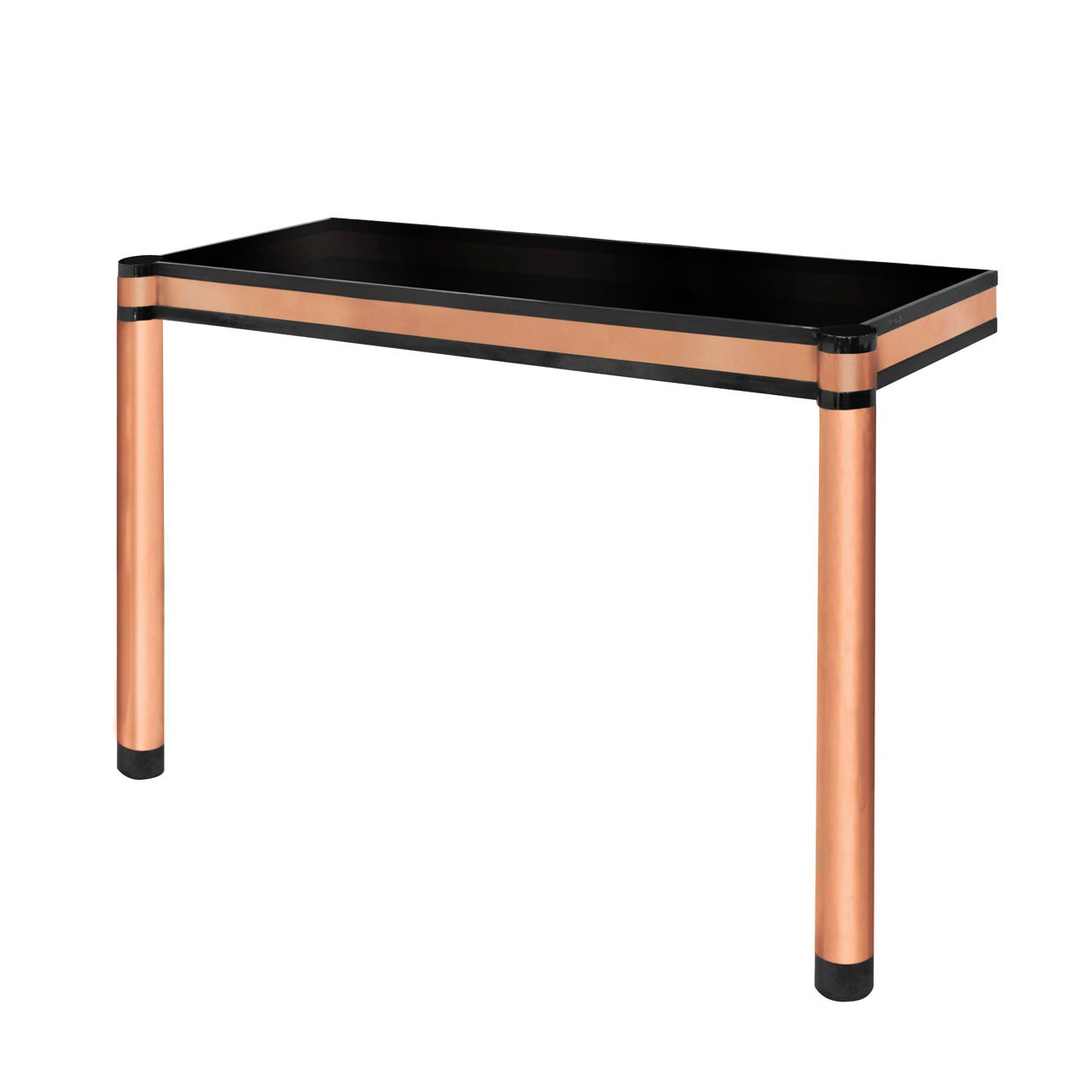 WallMounted Round Leg Console Table by Karl Springer For Sale at