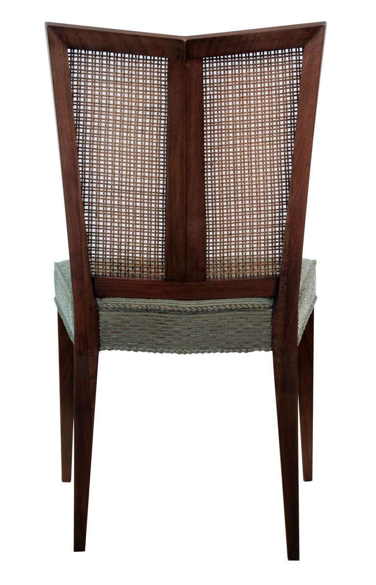 Set of 6 Dining Chairs with Split Indian Cane Backs by  : Baker95FarEastsplitbackcanediningchairs47detail3hiresl from www.1stdibs.com size 768 x 1195 jpeg 102kB