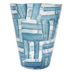 """Rare Handblown Glass """"Alterni"""" Vase by Ercole Barovier"""