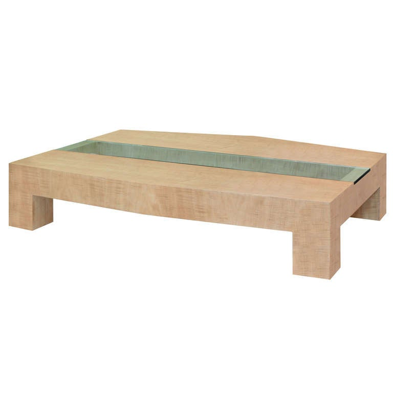 Springer 15 Lrg Avodire Glass Coffeetable332 Hires