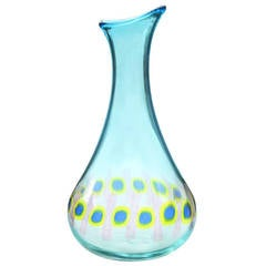 "Handblown ""Murrine Incatenate"" Vase by Anzolo Fuga for A.V.E.M 1959"