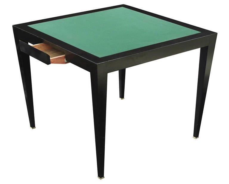 Flip Top Game Table By Donghia 2