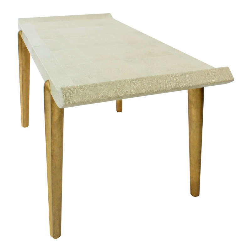 %name Best Coffee Tables Gold Leaf Coffee Table At Stdibs