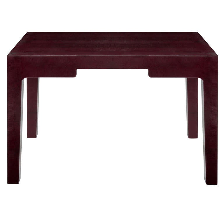 Chinese parsons style desk by karl springer for sale at for Asian style desk