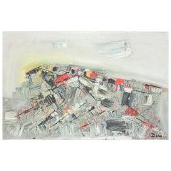 """Lac Iman"" Canvas by Pierre Bosco"