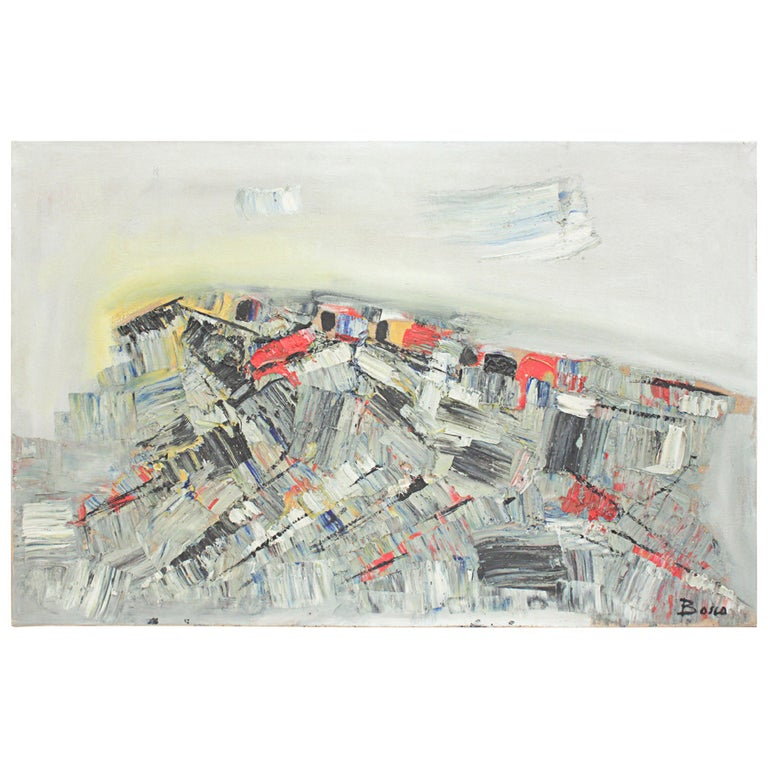 """Lac Iman"" Canvas by Pierre Bosco For Sale"