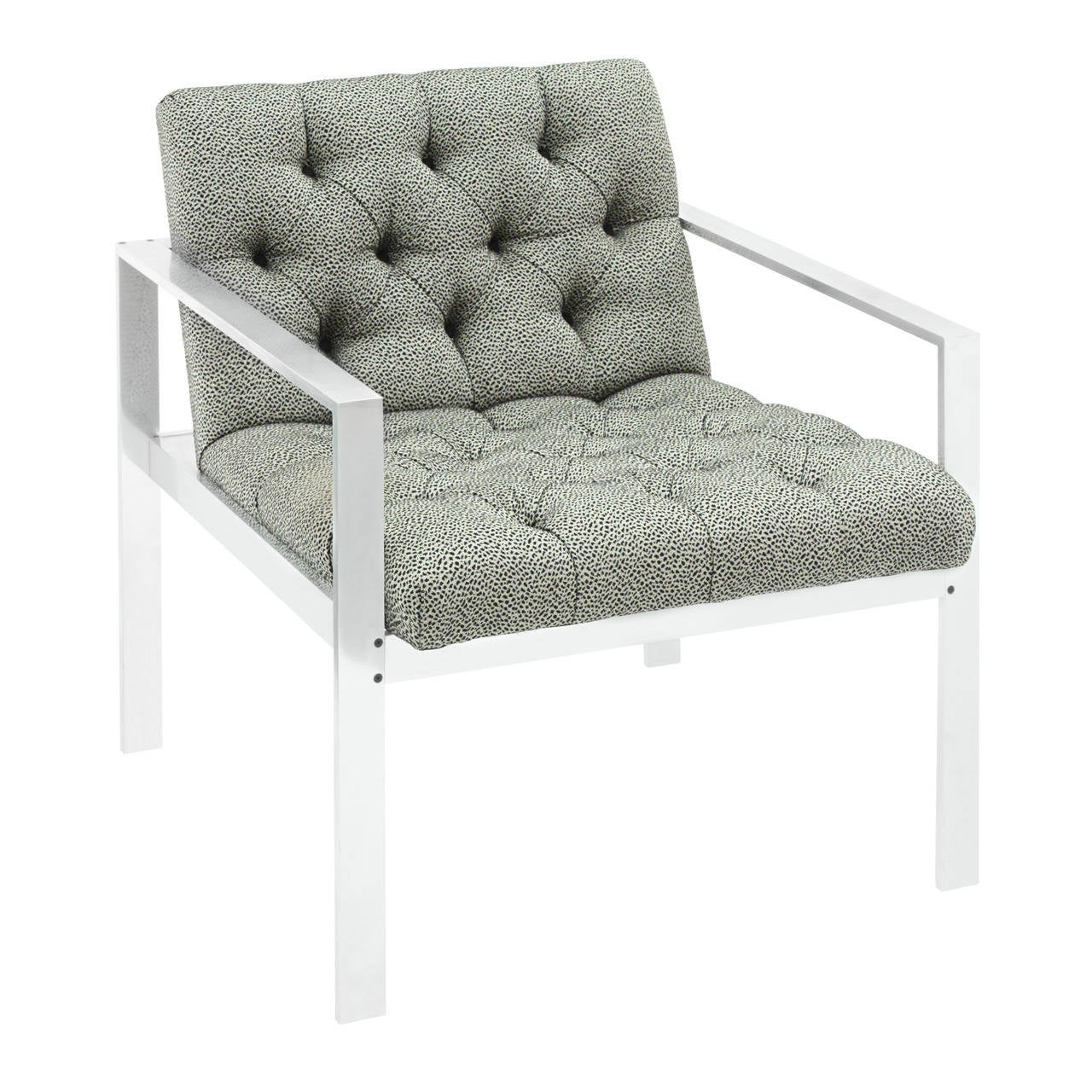 Lounge Chair with Aluminium Frame by Harvey Probber 1