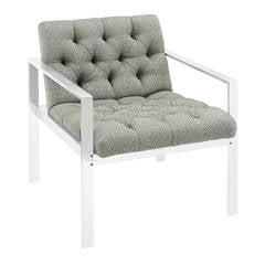 Lounge Chair with Aluminium Frame by Harvey Probber