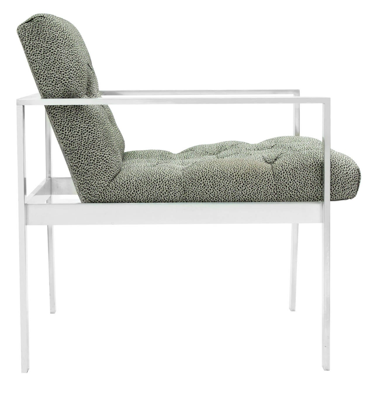 Lounge Chair with Aluminium Frame by Harvey Probber 2