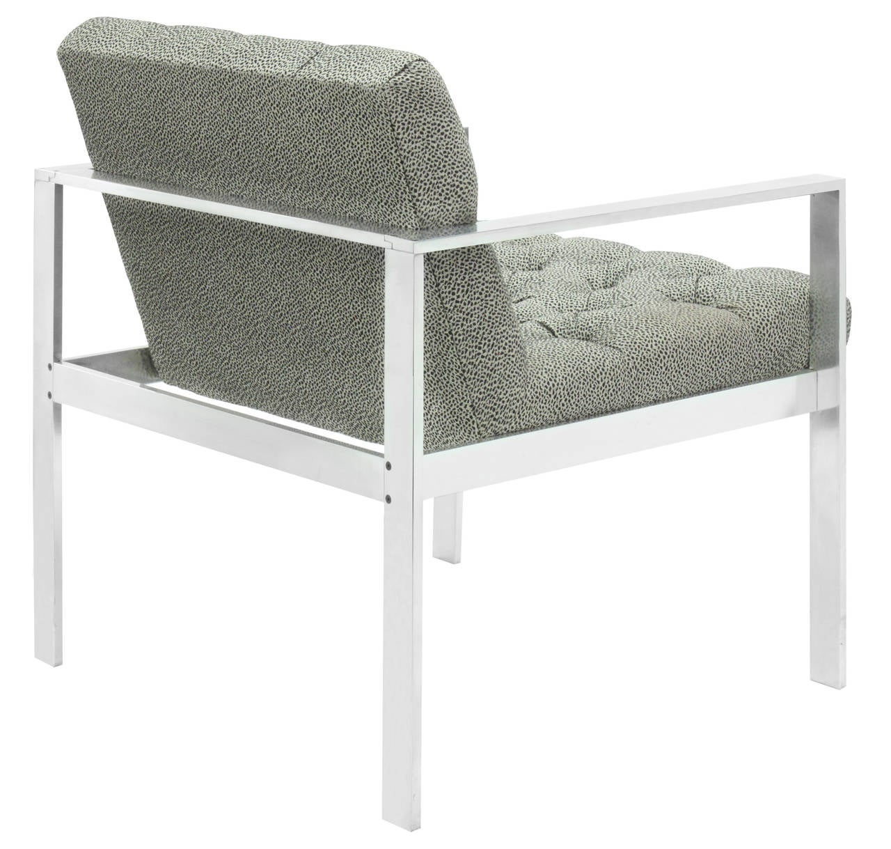 Lounge Chair with Aluminium Frame by Harvey Probber 3