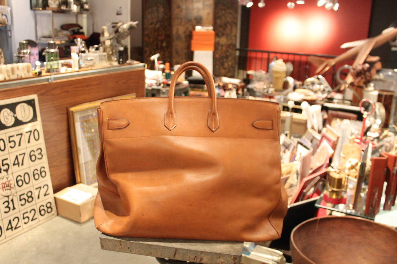 Hermes HAC Travel Bag In Good Condition For Sale In New York, NY