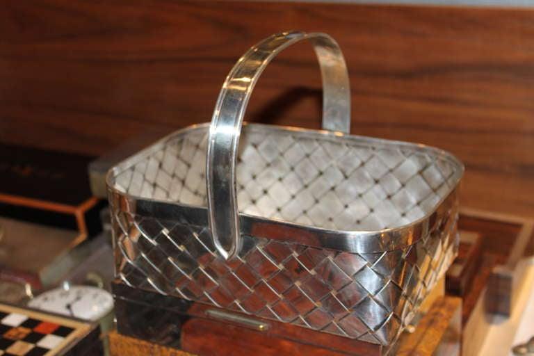 Giant Cartier Sterling Basket 2