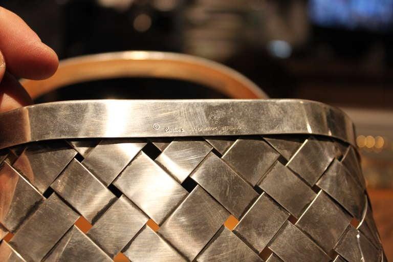 Giant Cartier Sterling Basket 3