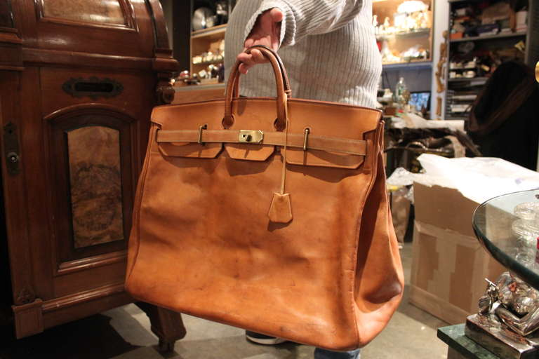 e29795fc2ab6 Amazing Hermes 50 cm HAC Bag. This bag has perfect wear.. it is