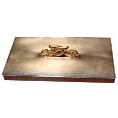 Rare Hermes Dolphin Box