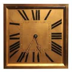 Huge Tiffany Art Deco clock
