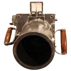 Beautiful Polished Aluminum WWII Aerial Camera