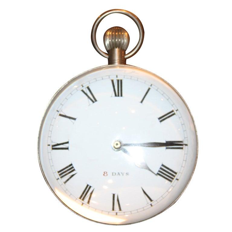 Huge 1920 S Doxa Ball Clock For Sale At 1stdibs