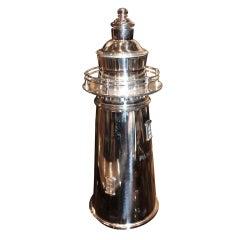 Rare Meriden Figural Boston Lighthouse Shaker 1928