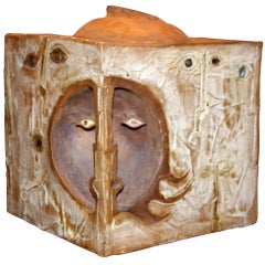 Giant Ceramic Surrealist Craft Box