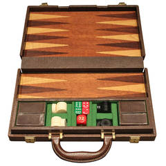 Vintage Gucci Travel Backgammon