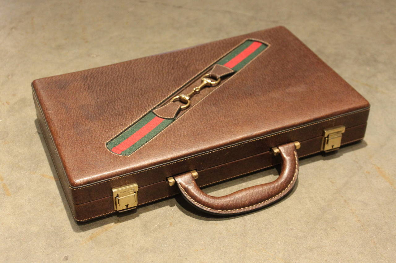Vintage Gucci Travel Backgammon 2