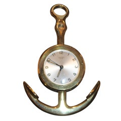 Hermes Anchor Clock
