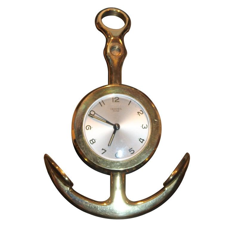Hermes Anchor Clock