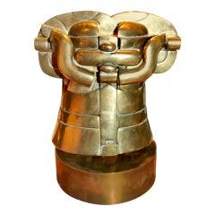 Rare Miguel Berrocal Richelieu Puzzle Bronze