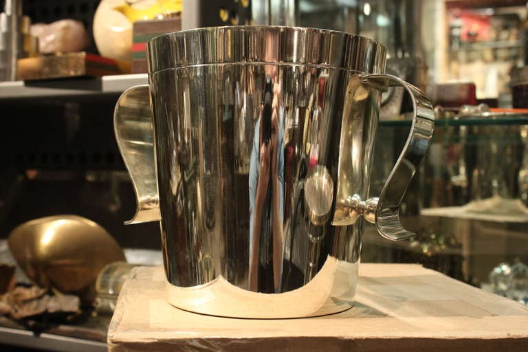 Christofle Deco Ice Bucket Designed by Luc Lanel 2