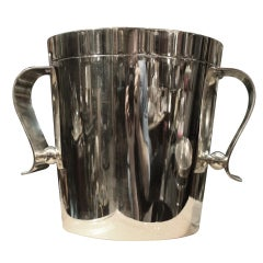 Christofle Deco Ice Bucket Designed by Luc Lanel