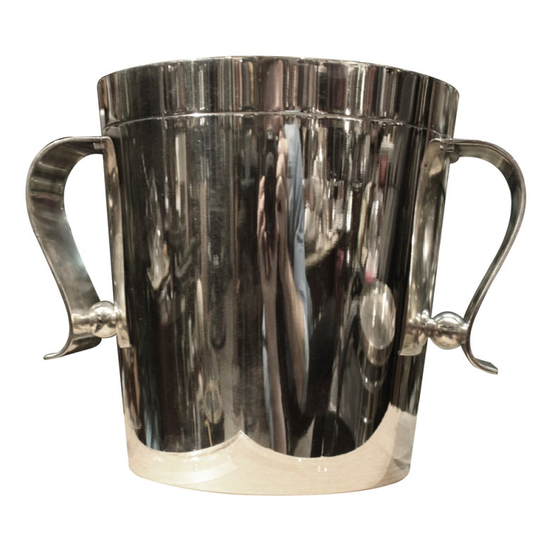 Christofle Deco Ice Bucket Designed by Luc Lanel 1