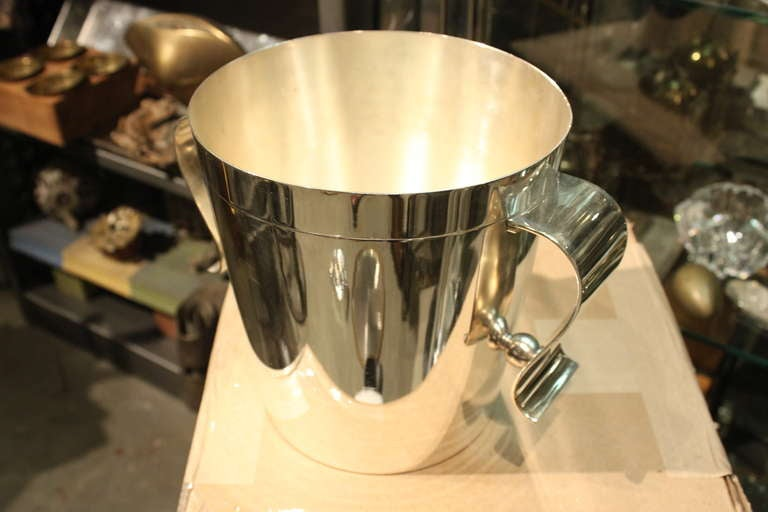 Christofle Deco Ice Bucket Designed by Luc Lanel 3