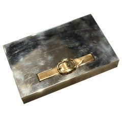 Hermes Belt Buckle Box