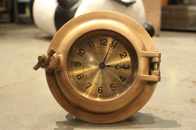 Hermes Porthole Clock by Jaeger-LeCoultre