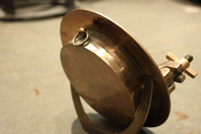 Hermes Porthole Clock by Jaeger-LeCoultre 4