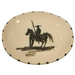 Fine Picasso Pottery Charger