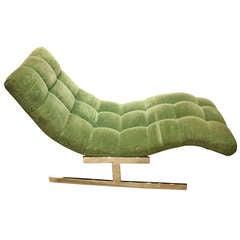 Milo Baughman Chaise Lounge 1970
