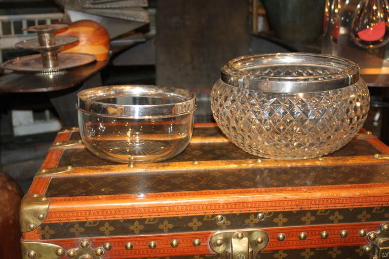 Asprey Sterling and Crystal Caviar Set 3
