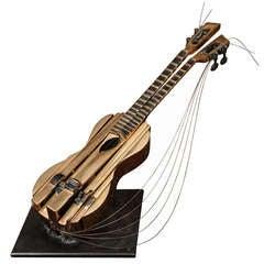 Bronze Violin by Arman