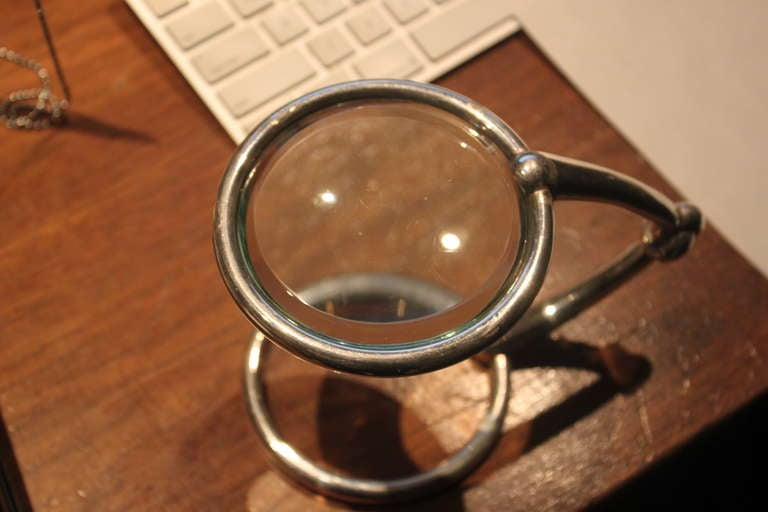 French Hermes Equestrian Magnifier For Sale