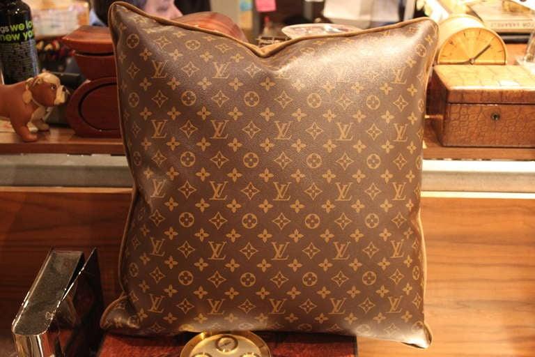 Large Louis Vuitton Throw Pillows 2
